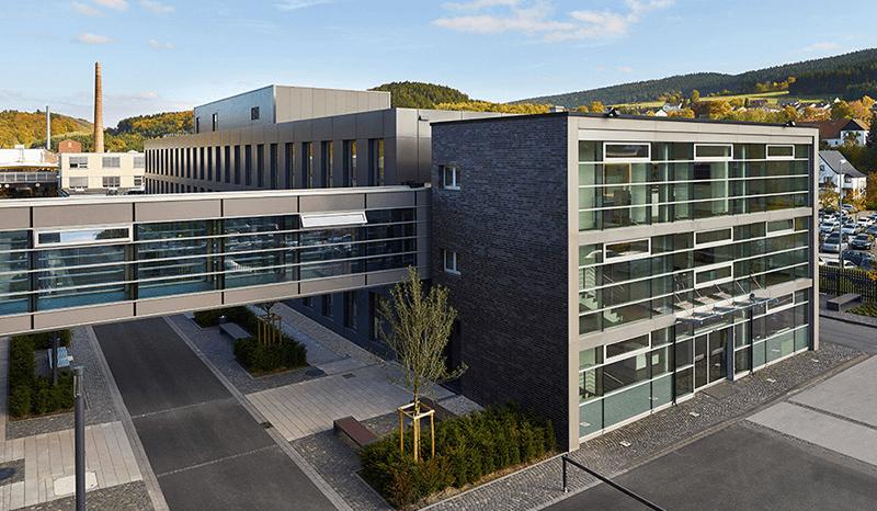 exterior view officeHOPPECKE Batterien in Brilon-Hoppecke
