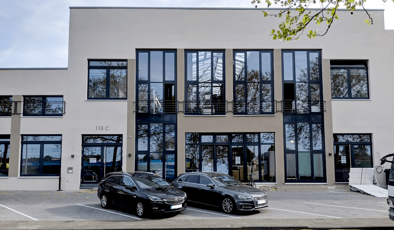 exterior view office INTILION in Paderborn