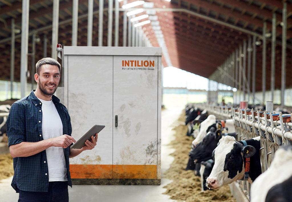 Stromspeicher Landwirtschaft Intilion
