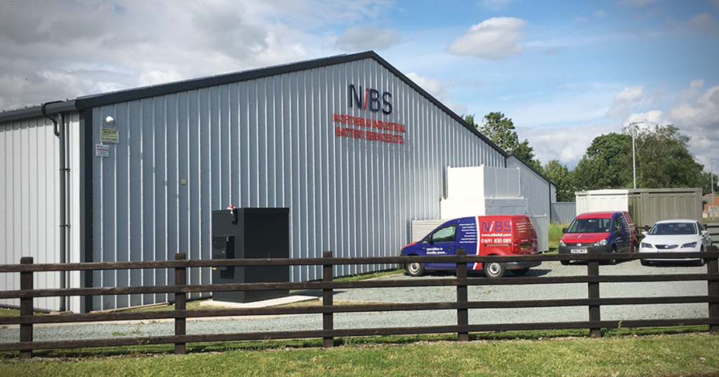 Gewerbespeicher Firmengelände NiBS Ltd