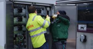 Batteriespeicher Module einsetzen Intilion